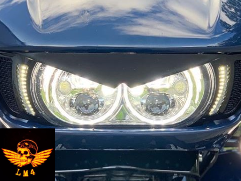 Road Glide LED Vent Trim Light by LM4PHOTO