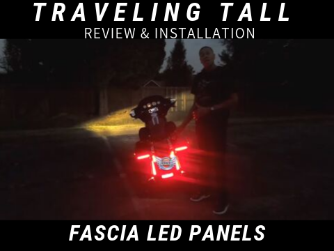 Fascia LED Panels Review & Installation by Traveling Tall