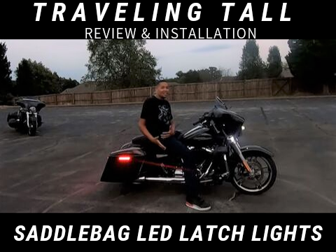 Saddlebag LED Latch Lights Review & Installation by Traveling Tall