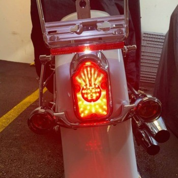 photo by Andy W - LED Tombstone Taillight for Harley-Davidson®