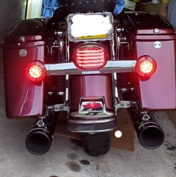 photo by Pre-1999 Taillight Baseplate for H-D