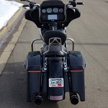 CUSTOM DYNAMICS Sequential Low Profile BAGZ Saddlebag Lights for 14-20 Harley Davidson Touring Models SMOKE LENS