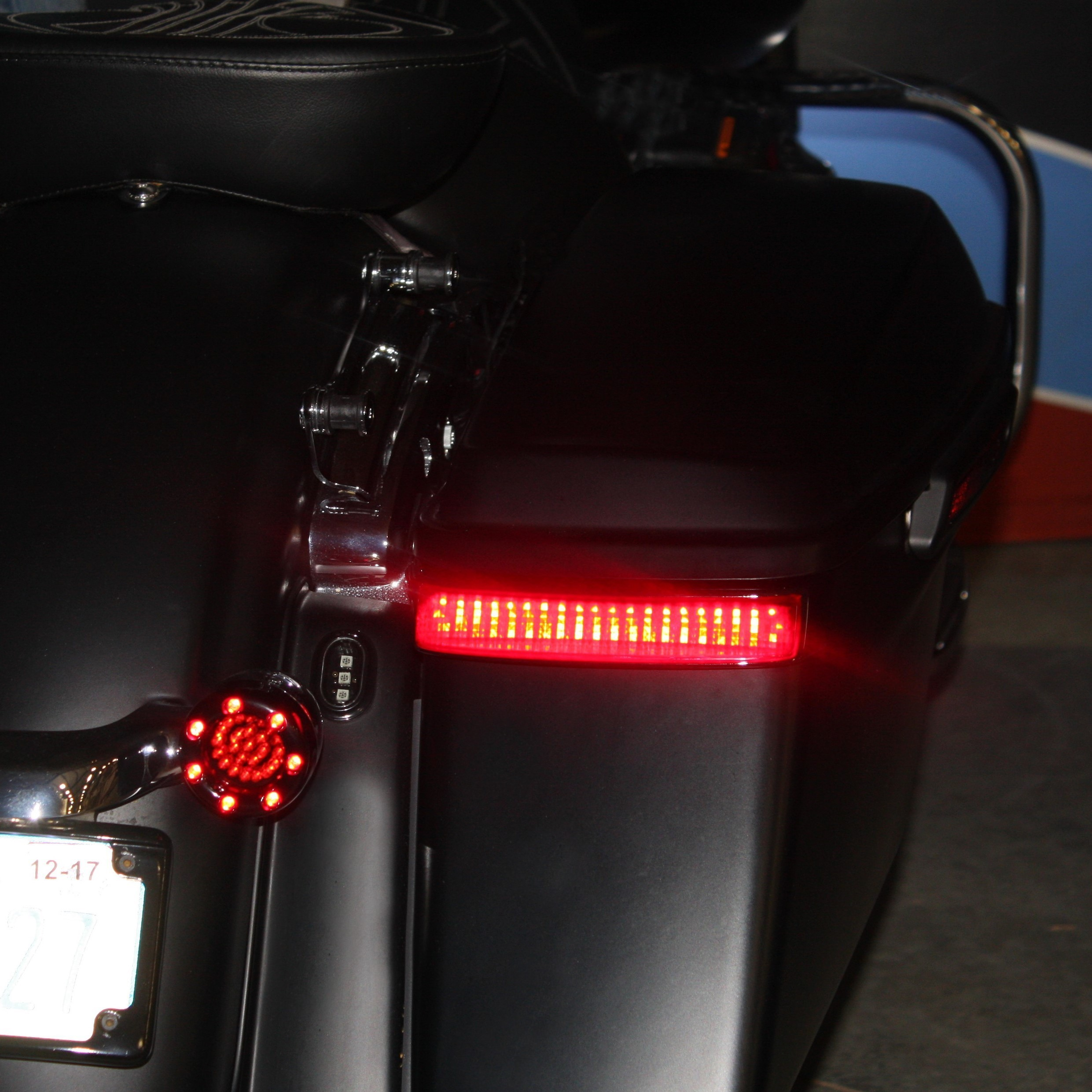Harley Davidson Led Taillights Brake Lights By Custom Dynamics