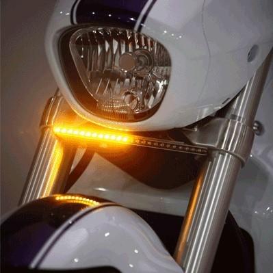 M Frontamber on Yamaha Golf Cart Turn Signal