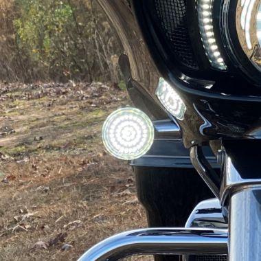 Custom Dynamics ProBEAM AMBER Bullet Style Turn Signal Lens for Harley-Davidson