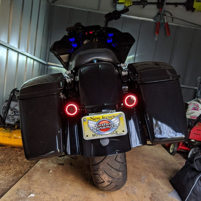 Details about  /Custom Dynamics 9 Pin Load Equalizer Stabilizer for 10-13 Harley FLHX Touring