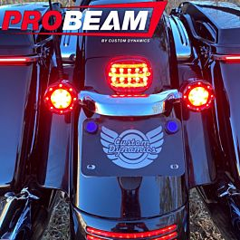 Custom Dynamics Smoke Add-On LED Tail Light Assembly 2010-2013 Harley Touring