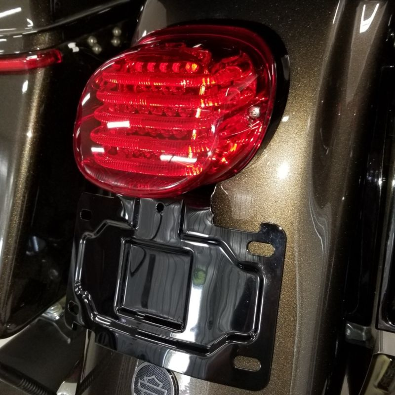 License Plate Relocation Mount for 2014-2021 Harley-Davidson® Touring
