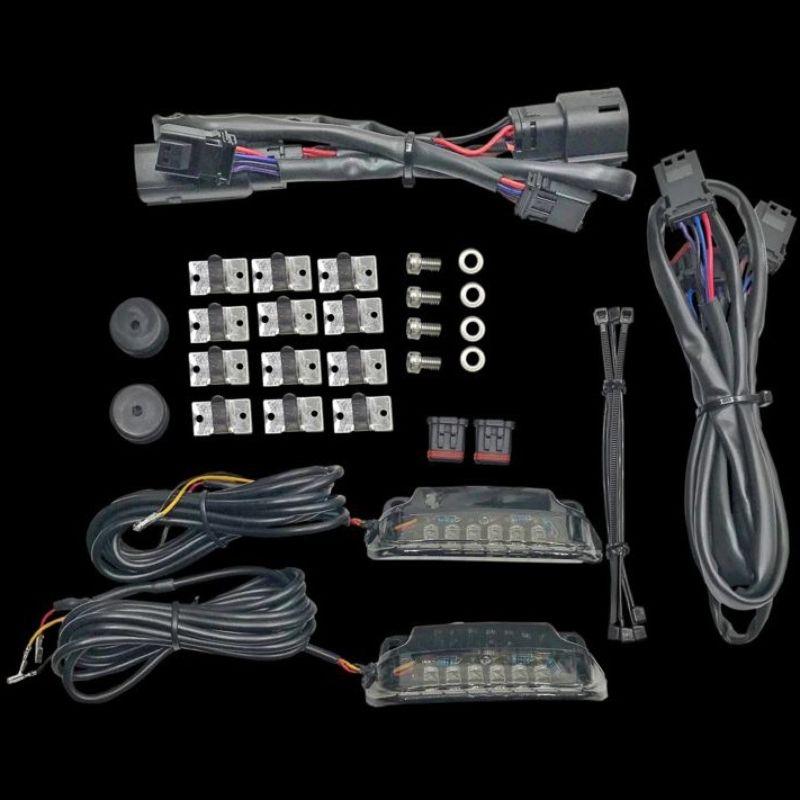 Saddlebag Rail LED Light Bars for 2010-2013 Street Glide CVO & Road Glide Custom CVO
