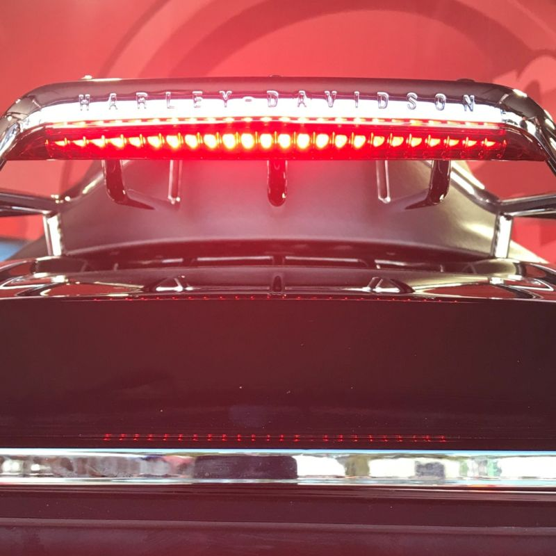 Luggage Rack LED Light Bar for 1997-2013 Touring and Tri Glide