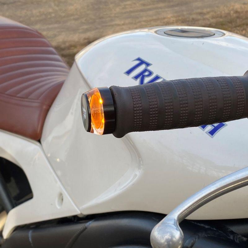 Motorcycle Handlebar End LED Lights