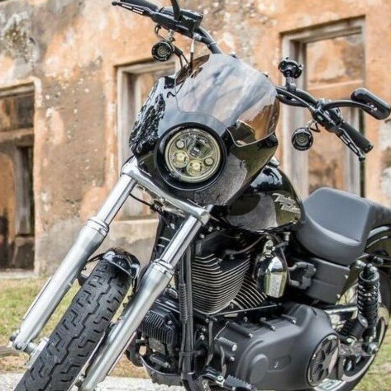 """5.75"""" TruBEAM® LED Halo Motorcycle Headlamp"""
