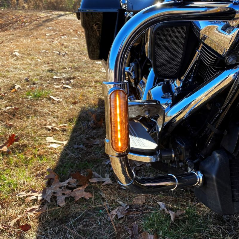 Run & Turn Signal Motorcycles Engine Guard LED Lights for 2014-2021 H-D™ Tri Glide®