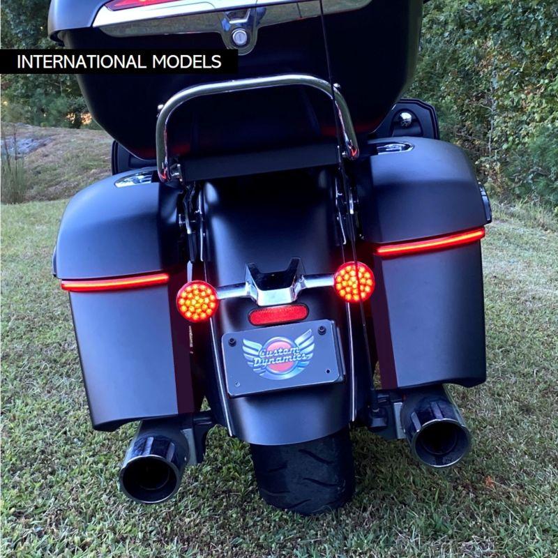LED Saddlebag Lights for International Indian® Motorcycles