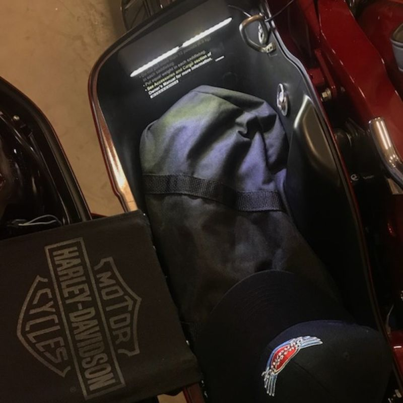 Interior Motorcycle Tour Pak & Saddlebag LED Light Kits