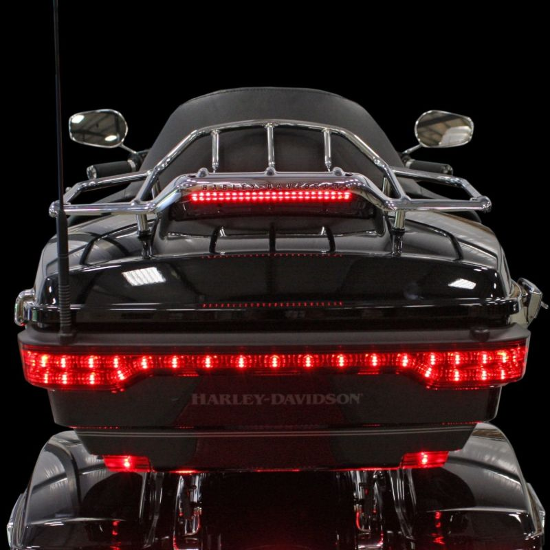 Luggage Rack LED Light Bar for 2014-2021 Touring and Tri Glide