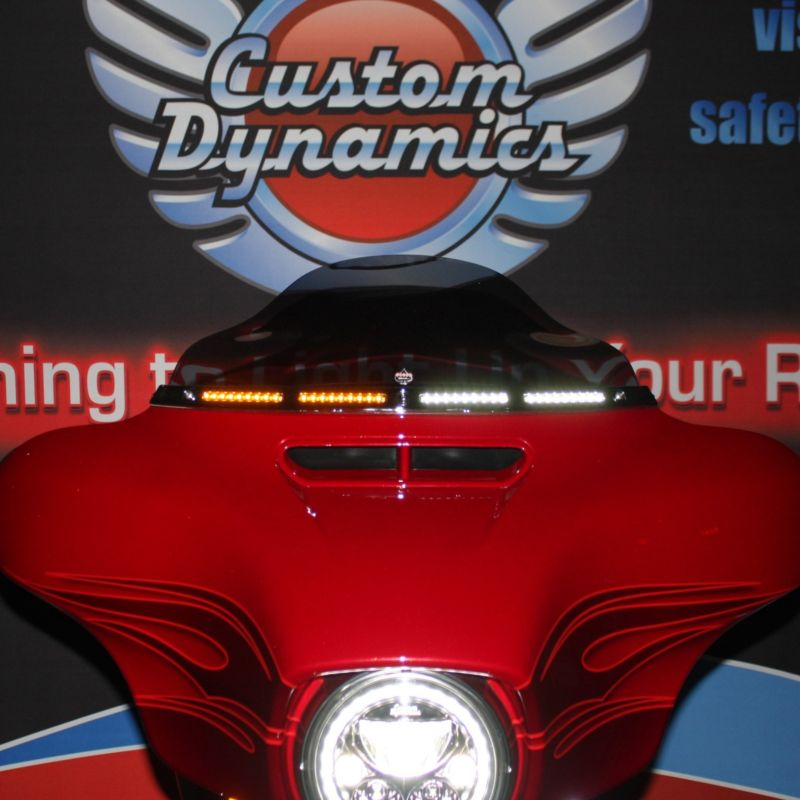 Original Batwing Windshield Trim with Standard Turn Signal for 96-21 Harley-Davidson®