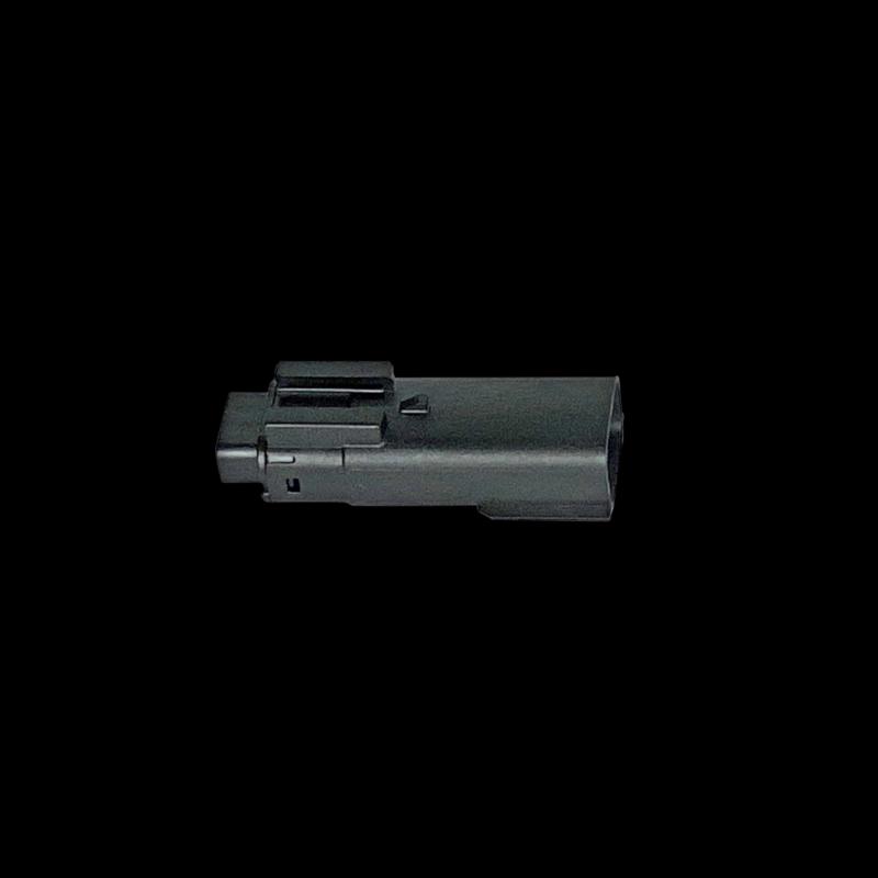 Molex MX-150 Series, 3-Position Male Connector (Black) - each
