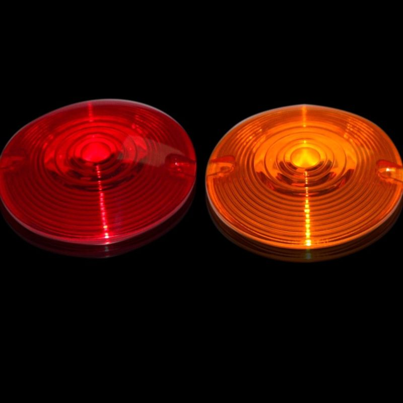 Flat Style H-D™ Turn Signal Lenses for Incandescent Bulbs