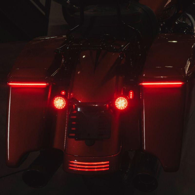 Low Profile BAGZ™ LED Saddlebag Lights for 10-13 H-D™ Street Glide & Road Glide Custom