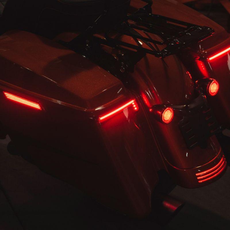 Low Profile BAGZ™ LED Saddlebag Lights for 2014-2021 FLHR FLHT FLHTP & CVO™ Touring Models