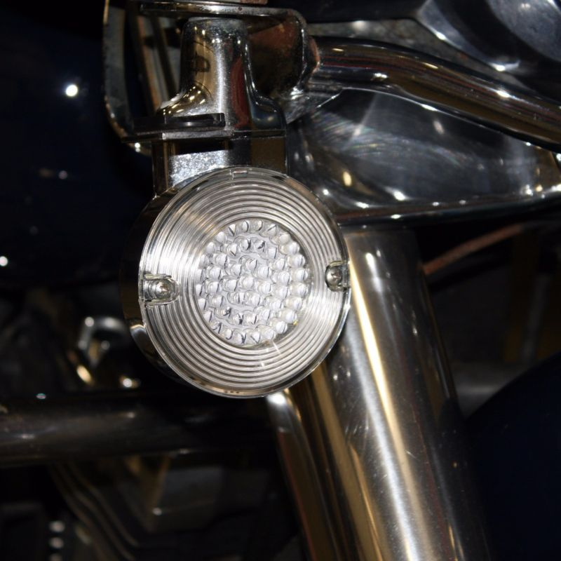 Smooth Flat Style H-D™ Turn Signal Lenses for LEDs