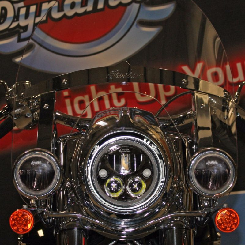"""7"""" TruBeam® for Indian® Chief, Chieftain, Springfield, Roadmaster Limited & Roadmaster Dark Horse Models"""