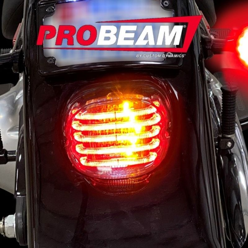 ProBEAM® Integrated Low Profile LED Taillights with Auxiliary Turn Signals