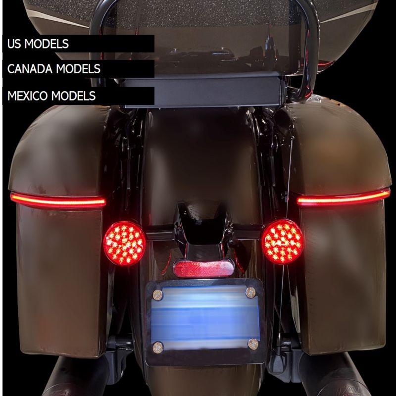 LED Saddlebag Lights for Indian® Chieftain & Dark Horse Models