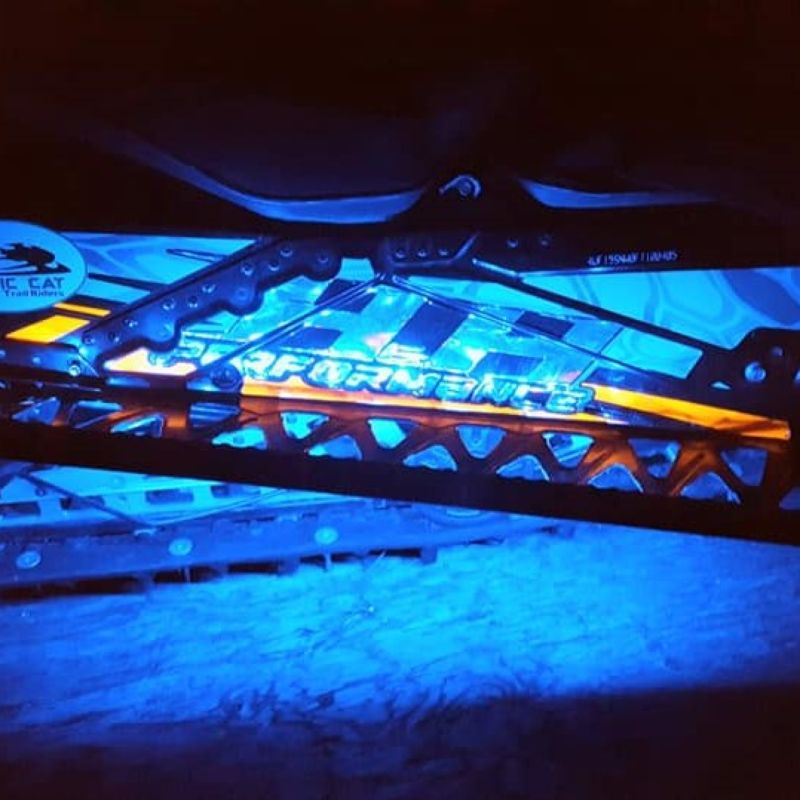 Magical Wizards™ Snow Mobile LED  Running Board Kit