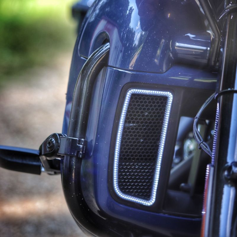 Dynamic Lower Fairing Inserts for Harley-Davidson® Motorcycles