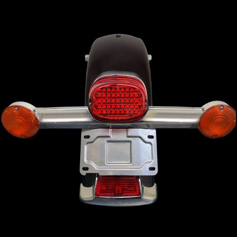 License Plate Relocation Mount for Harley-Davidson® Turn Signal Bar