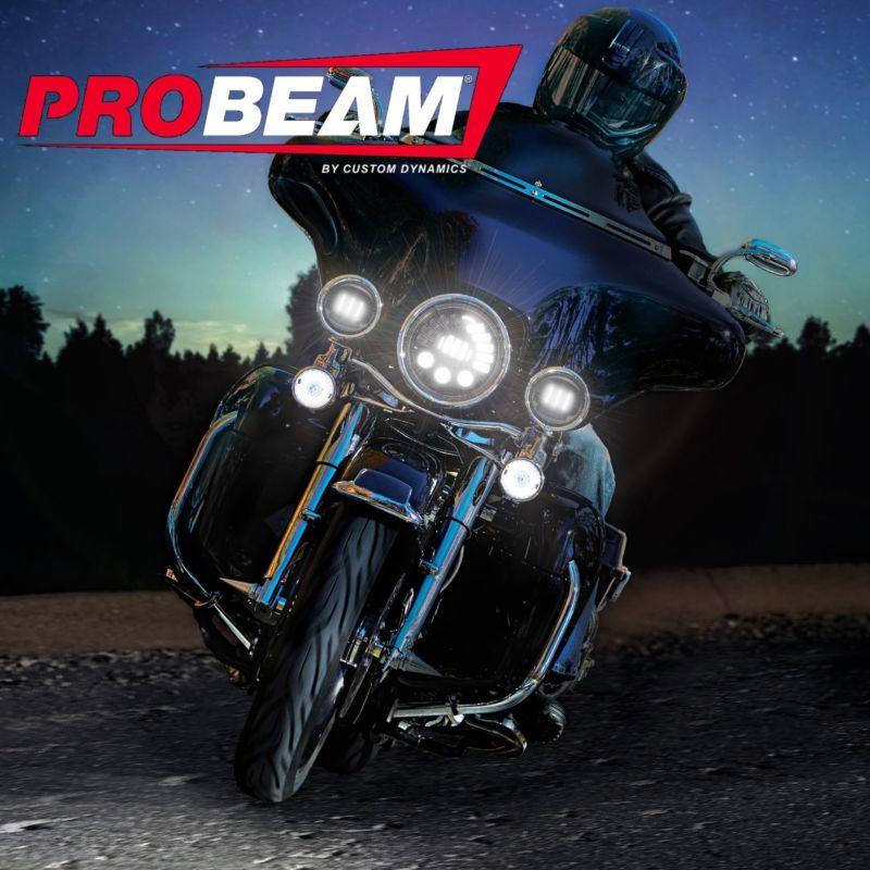 "ProBEAM® Adaptive 2 7"" LED Headlamp for Harley-Davidson® Motorcycles"