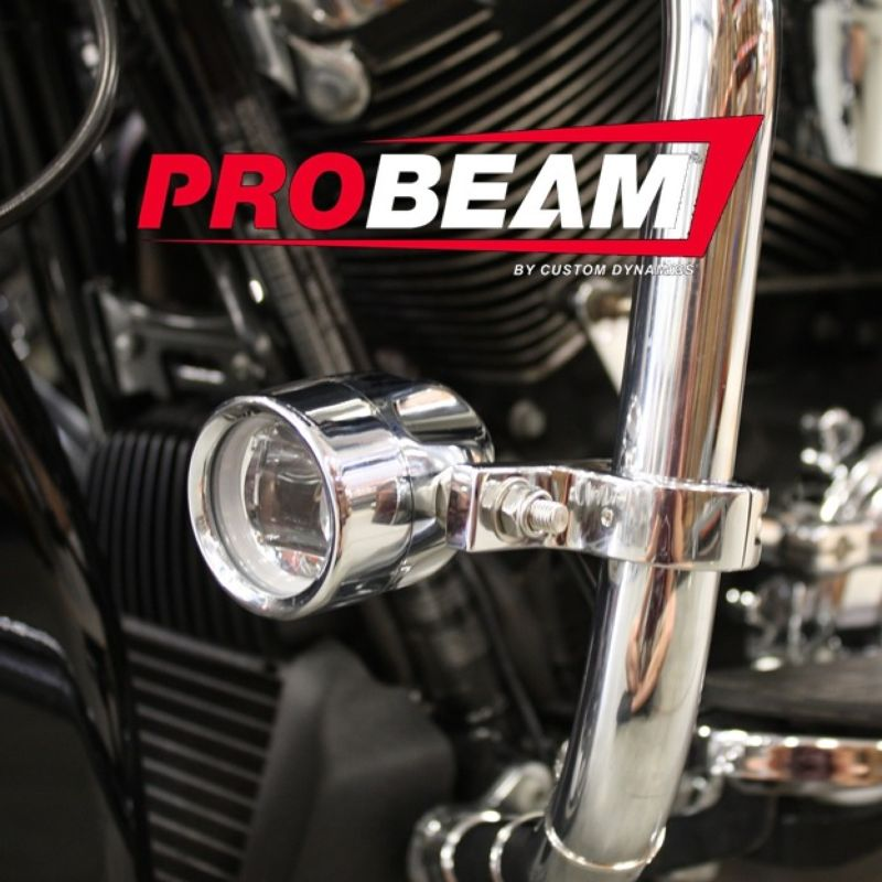 ProBEAM® LED Halo Fog Lamps for 10-13 H-D™ Street Glide & Road Glide Custom Motorcycles