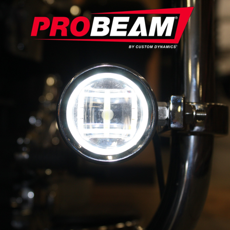 ProBEAM® LED Halo Fog Lamps for 97-13 H-D™ Motorcycles