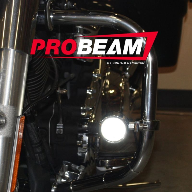 ProBEAM® LED Halo Fog Lamps for 14-21 H-D™ Tri Glide® and Freewheeler®