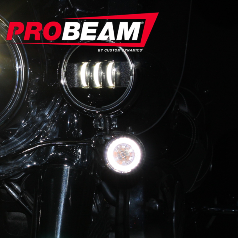 ProBEAM® Amber/White Dynamic Ringz™ for Indian® Motorcycles