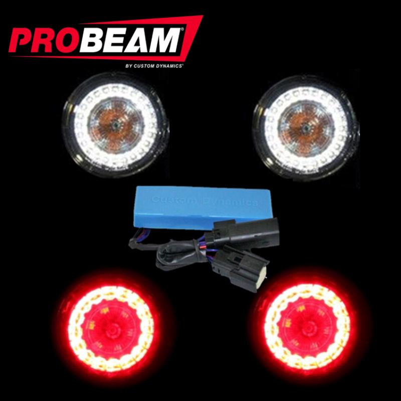 ProBEAM® TSSM Turn Signal Conversion Kit (1157 Rear, 1157 Front) for Harley-Davidson®