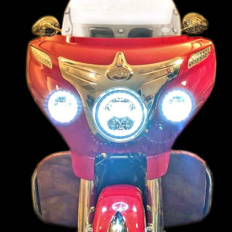 """7"""" TruBEAM® for 2015-2021 Indian® Chieftain & Roadmaster Models"""