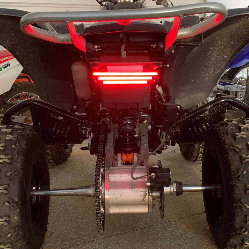 Red Plasma Rods for Off Road Vehicles