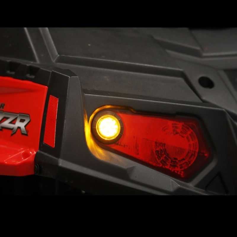 Amber LED Front & Rear UTV Turn Signal Kit