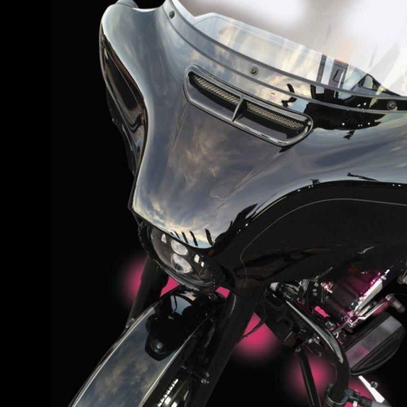 Decorative Vent Trim Insert for 2014-2021 H-D™ Batwing Fairings