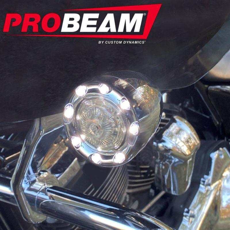 ProBEAM® Front JAE Bullet Ringz™ for 2016-2021 H-D™ CVO™