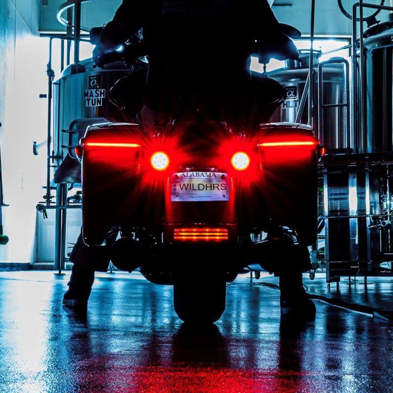 Low Profile BAGZ™ LED Saddlebag Lights for 2014-2021 Harley-Davidson® Bagger