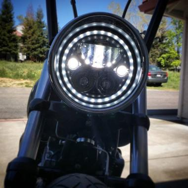 TruBEAM LED Motorcycle Headlamps