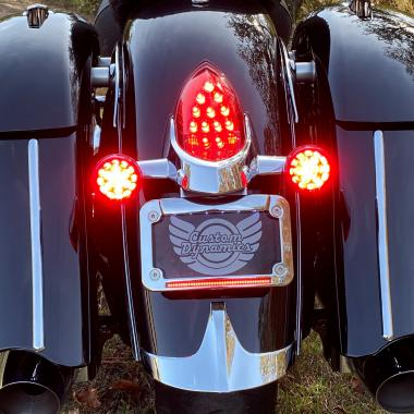 Indian® Motorcycle LED License Plate Frames