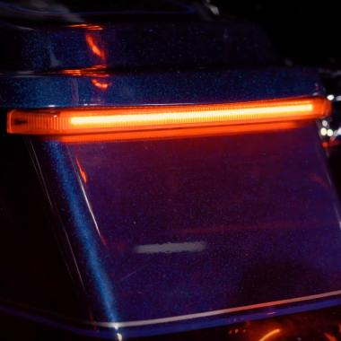 Low Profile Motorcycle LED Saddle Bag Lights
