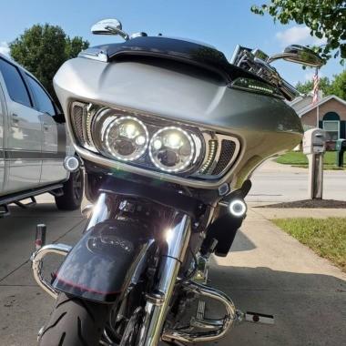 LED Headlight for Harley-Davidson® Road Glide