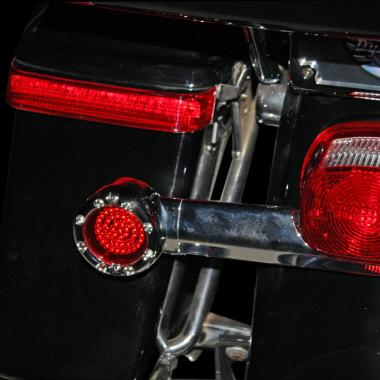 Flat Ringz™ LED Motorcycle Turn Signals