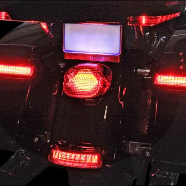 Motorcycle LED Taillights and Brake Lights